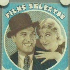 Cine: ON42 VICTOR MAC LAGLEN GRETA NISSEN REVISTA ESPAÑOLA FILMS SELECTOS FEBRERO 1933. Lote 29153581