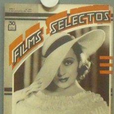 Cine: ON45 FRANCES DRAKE IMPERIO ARGENTINA REVISTA ESPAÑOLA FILMS SELECTOS OCTUBRE 1934. Lote 29154168