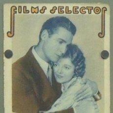 Cine: ON46 JANET GAYNOR CHARLES FERRELL CHAPLIN DIETRICH REVISTA ESPAÑOLA FILMS SELECTOS ABRIL 1931. Lote 29154235