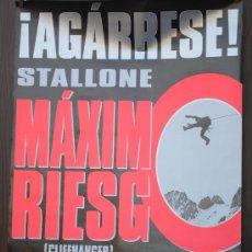 Cine: CARTEL DE CINE --- MAXIMO RIESGO ---. Lote 29176815