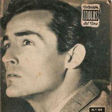 Cine: VITTORIO GASSMAN - BIOGRAFIA DE SU VIDA ARTISTICA. COLECCION IDOLOS DEL CINE Nº 44, AÑO 1958.. Lote 29203278