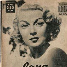 Cine: LANA TURNER - BIOGRAFIA DE SU VIDA ARTISTICA. COLECCION IDOLOS DEL CINE Nº 12, AÑO 1958.. Lote 29203430