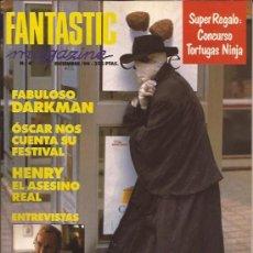 Cine: REVISTA DE CINE-FANTASTIC MAGAZINE-NUM. 4-DIC.90-DARKMAN-SITGES. Lote 29229914