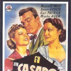 Cine: UN CASADO EN APUROS -SOLIGÓ-. Lote 29309171