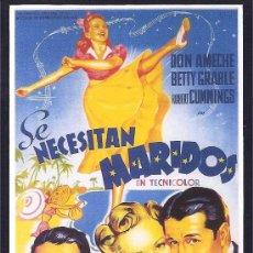 Cine: SE NECESITAN MARIDOS -SOLIGÓ-. Lote 29309931