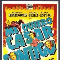 Cine: ME QUIERO CASAR CONTIGO -SOLIGÓ-. Lote 30288054