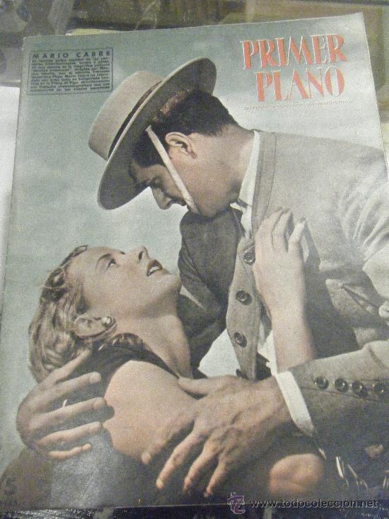 REVISTA PRIMER PLANO Nº 672 MARIO CABRE, CLAIRE BLOOM, CLAUDE DAUPHIN, AVA GARDNER, GRETA GARBO (Cine - Revistas - Primer plano)