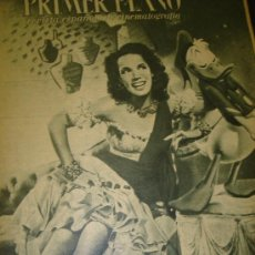 Cine: REVISTA PRIMER PLANO, Nº 284, AURORA MIRANDA, EL PATO DONALD, ALICIA PALACIOS, GARY COOPER, BOB HOPE. Lote 29286763