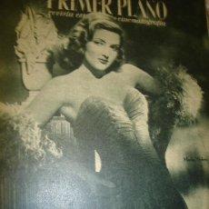 Cine: REVISTA PRIMER PLANO, Nº 254, MARTHA VICKERS, FRANK SINATRA, GEORGE RAFT, CAROLE LOMBARD. Lote 29287827