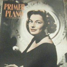 Cine: REVISTA PRIMER PLANO Nº 820. RUTH ROMAN, JOSE FERRER, RICHARD BASEHART, MARIO LANZA, ALICIA PALACIOS. Lote 29288153