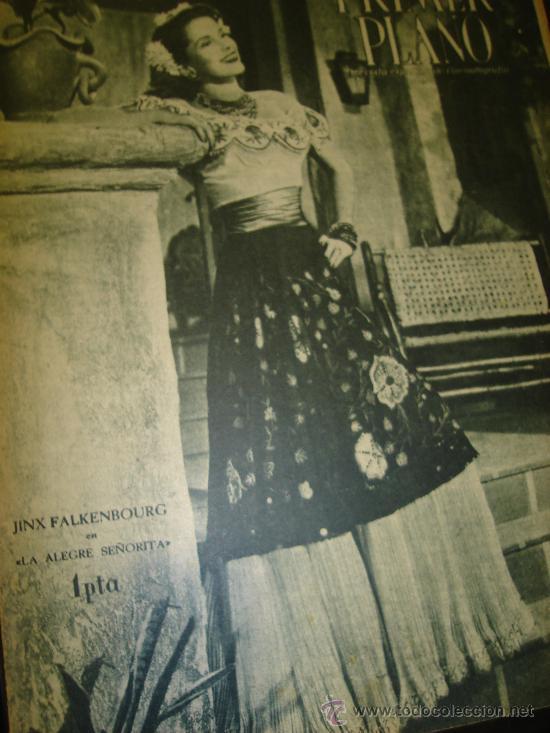 REVISTA PRIMER PLANO Nº 286, JINX FALKENBOURG, THURAN BEY, TANGYE, FREDRICH MARCH (Cine - Revistas - Primer plano)