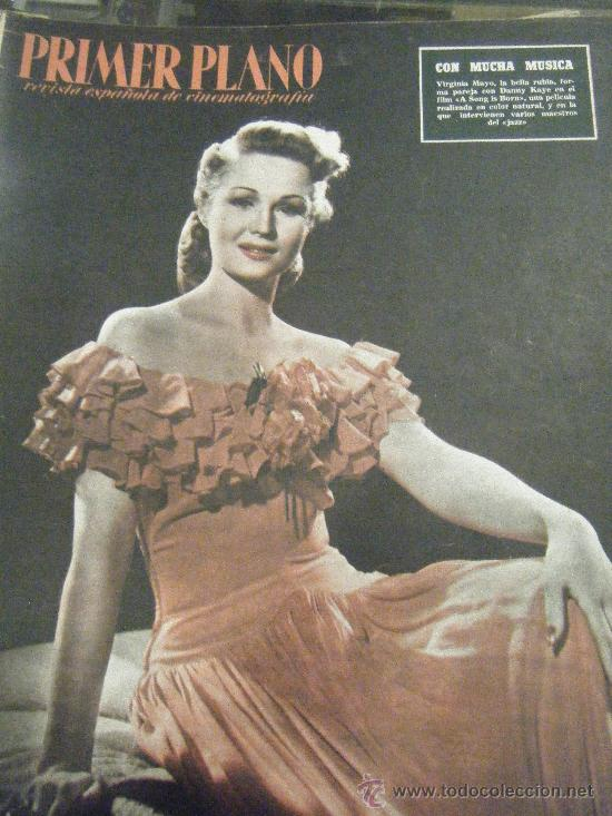 Cine: REVISTA PRIMER PLANO Nº 770. VIRGINIA MAYO, MARLON BRANDON, JUDY HOLLIDAY, CLARK GABLE - Foto 1 - 29299559