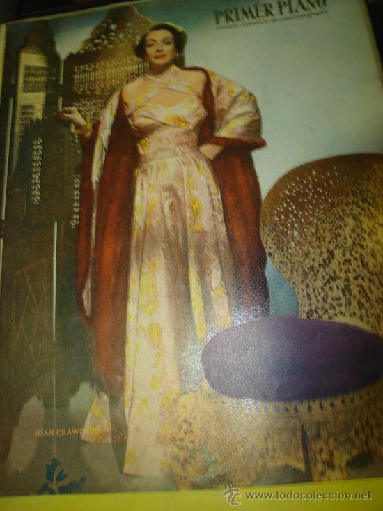 REVISTA PRIMER PLANO, Nº528. JOAN CRAWFORD, ANTOÑITA MORENO, CARLA BALENDA, SOLEDAD LENCE (Cine - Revistas - Primer plano)