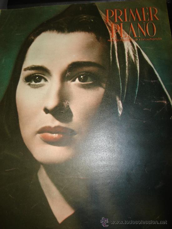 REVISTA PRIMER PLANO, Nº 550. PAQUITA RICO, GUILLERMO DE REYNA, PAQUITA RICO, ANOUK (Cine - Revistas - Primer plano)