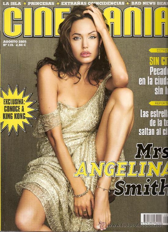 CINEMANÍA. AGOSTO 2005. Nº 119. ANGELINA JOLIE. KING KONG. NINETTE. ELSA PATAKY. SIN CITY.TODO CINE. (Cine - Revistas - Cinemanía)