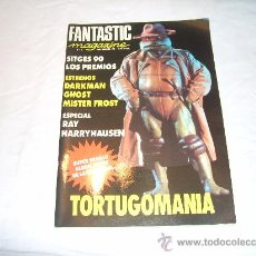 Cinéma: FANTASTIC MAGAZINE Nº 3. TORTUGOMANIA. RAY HARRYHAUSEN. SITGES 90. DARKMAN. GHOST. MISTER FROST. . Lote 32323653