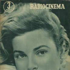 Cine: GRACE KELLY REVISTA RADIOCINEMA AÑO 1956. Lote 29396044