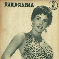 Cine: ELIZABETH TAYLOR REVISTA RADIOCINEMA AÑO 1955. Lote 29396057