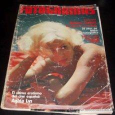 Cine: FOTOGRAMAS - Nº 1491 - MAYO 1977 - AGATA LYS. Lote 29428066