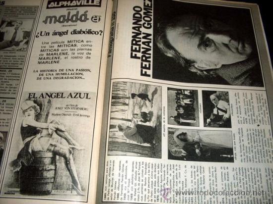 Cine: FOTOGRAMAS - Nº 1659 - MAYO 1981 - CARMEN MAURA - Foto 8 - 29438154
