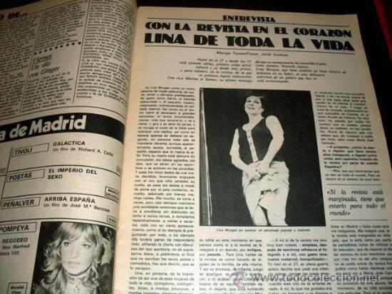 Cine: FOTOGRAMAS - Nº 1586 - MARZO 1979 - VICTORIA ABRIL - Foto 4 - 29438807