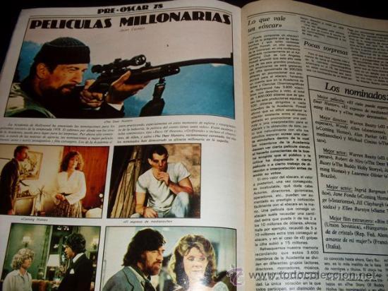 Cine: FOTOGRAMAS - Nº 1586 - MARZO 1979 - VICTORIA ABRIL - Foto 7 - 29438807
