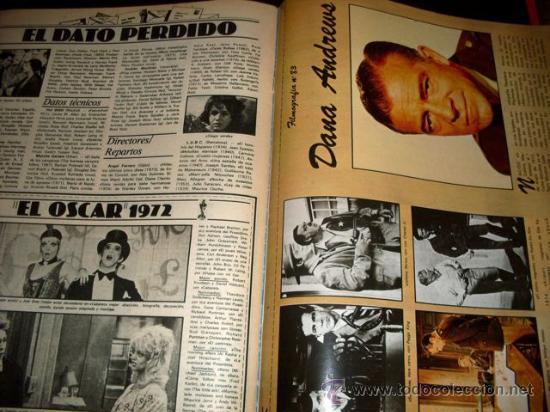 Cine: FOTOGRAMAS - Nº 1586 - MARZO 1979 - VICTORIA ABRIL - Foto 9 - 29438807