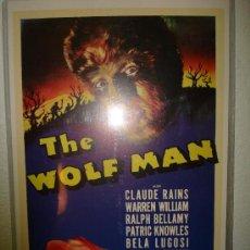 Cine: EL HOMBRE LOBO-LON CHANEY-THE WOLF MAN. Lote 29449254