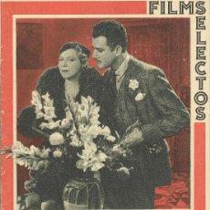 Cine: FILMS SELECTOS AÑO 1933, Nº 160.. Lote 29569773