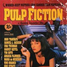 Cine: LAMINA CARTEL DE CINE 100 X 70 CM. EN PAPEL GRUESO (ALTA CALIDAD) . PULP FICTION... Lote 29626242