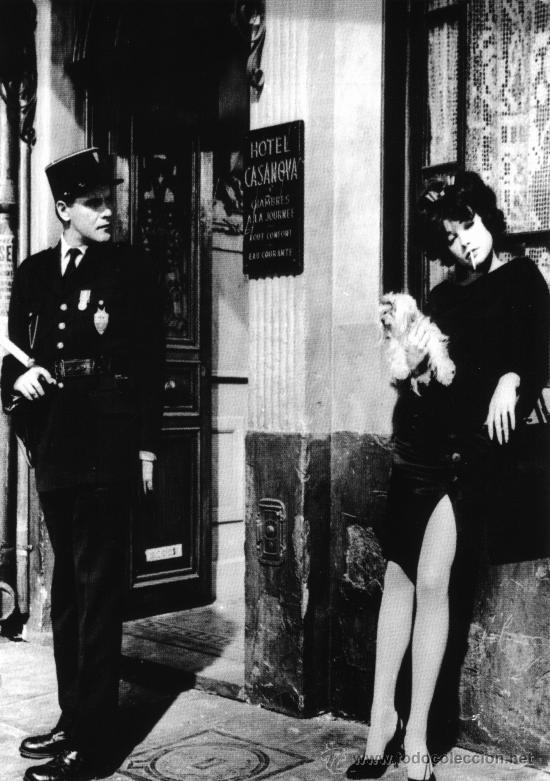 CUADRO EN MADERA DE 40X28 CM: IRMA LA DULCE, PARIS: FOTOGRAMA (Cine - Revistas - Colección grandes películas)