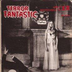 Cine: REVISTA DE CINE-TERROR FANTASTIC NUM.12-SEPTIEMBRE 72-. Lote 33990147