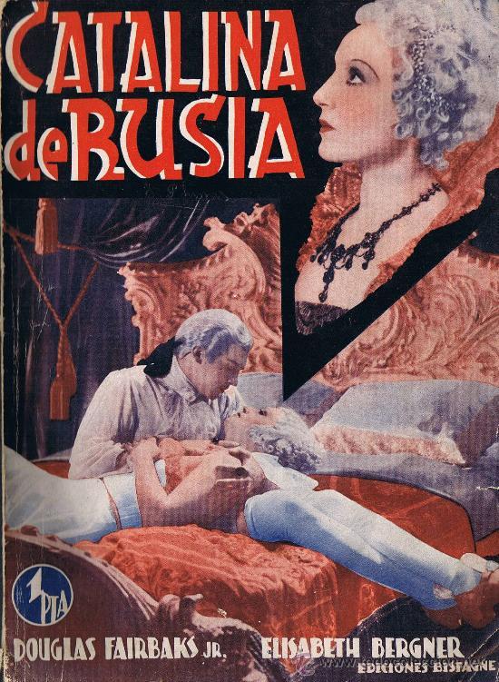 CATALINA DE RUSIA - EDICIONES BISTAGNE - LA NOVELA SEMANAL CINEMATOGRÁFICA (Cine - Revistas - Cinema)