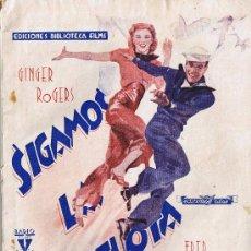 Cine: SIGAMOS LA FLOTA - EDITORIAL ALAS - GINGER ROGERS - FRED ASTAIRE - EDICIONES BIBLIOTECA FILMS -. Lote 29914791