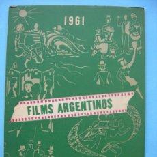 Cine: FILMS ARGENTINOS - 1961 - CRUZ DE MALTA. Lote 29909486