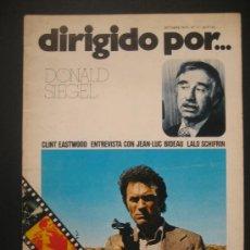 Cine: DIRIGIDO POR. Nº17 DONALD SIEGEL. CLINT EASTWOOD. Lote 30039848