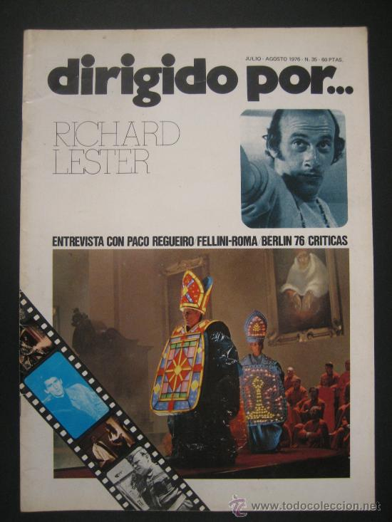 DIRIGIDO POR Nº 35 RICHARD LESTER. FELLINI (Cine - Revistas - Dirigido por)