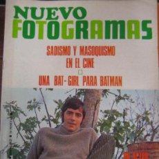 Cine: REVISTA FOTOGRAMAS Nº 1025 JOAN MANUEL SERRAT. Lote 30060740