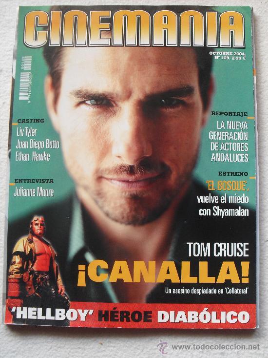 REVISTA CINEMANIA Nº209 - OCTUBRE 2004 - TOM CRUISE - COLLATERAL- LA NUEVA GENERACION DE ACTORES AND (Cine - Revistas - Cinemanía)