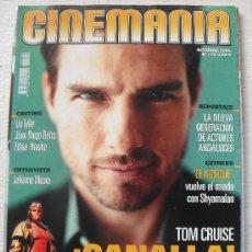 Cine: REVISTA CINEMANIA Nº209 - OCTUBRE 2004 - TOM CRUISE - COLLATERAL- LA NUEVA GENERACION DE ACTORES AND. Lote 30186274