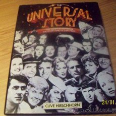 Cine: UNIVERSAL STORY , SU HISTORIA COMPLETA - CLIVE HIRSCHHORN - ED. OCTOPUS 1985 MBE EN INGLÉS. Lote 30222388