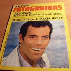 Cine: NUEVO FOTOGRAMAS Nº 1147 ( 9 OCTUBRE 1970 ) JULIO IGLESIAS, CHARO LOPEZ, CARMEN SEVILLA (FOT3). Lote 30382508