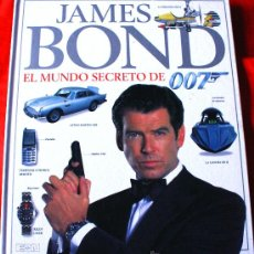 Cine: (LIBRO JAMES BOND EL MUNDO SECRETO DE 007 CIENTOS DE FOTOS A TODO COLOR). Lote 30378751