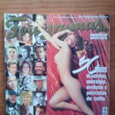 Cine: FOTOGRAMAS ENERO 1997 ( 50 AÑOS DE AMOR AL CINE / MARILIYN ). Lote 51114663