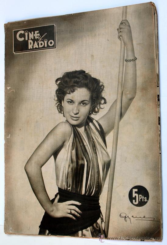 CINE Y RADIO. AÑO 1953 -AÑO I. NÚMERO 2. - 20 DE OCTUBRE DE 1953.- (Cine - Revistas - Cinegramas)