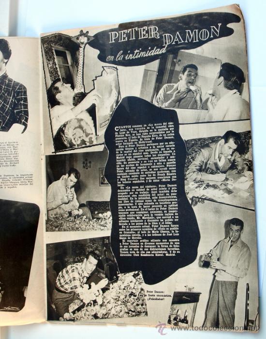 Cine: CINE Y RADIO. Año 1953 -Año I. Número 2. - 20 de octubre de 1953.- - Foto 3 - 30565351
