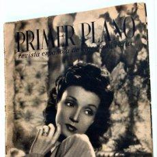 Cine: PRIMER PLANO Nº 1- AÑO 1940- REVISTA ESPAÑOLA DE CINEMATOGRAFIA - CONCHITA MONTENEGRO-. Lote 30567881