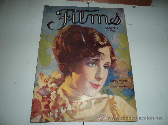 FILMS AGOSTO 1927 (Cine - Revistas - Films selectos)