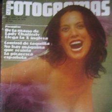 Cine: FOTOGRAMAS Nº 1536 TERELE PAVEZ LLUIS LLACH. Lote 30615866
