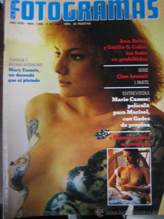 FOTOGRAMAS Nº 1459 MARY FRANCIS (Cine - Revistas - Fotogramas)
